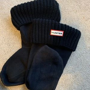 Hunter Original Cable Knotted Short Socks